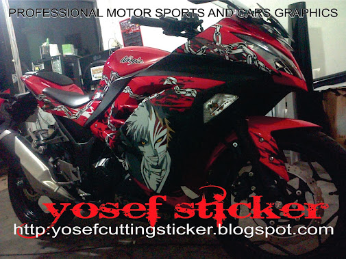... sticker ninja fi anime character bleach by yosef sticker surabaya