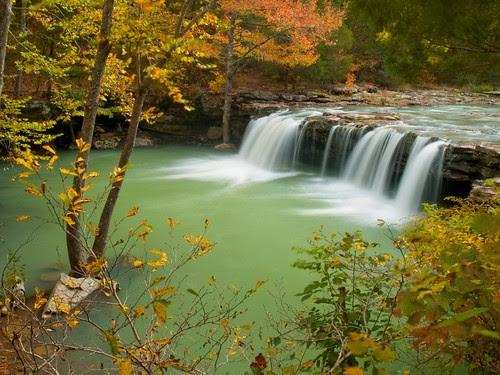 Fall at Falling Water Falls