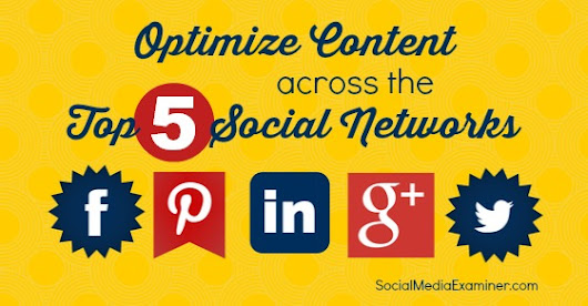 How to Optimize Your Content for the Top 5 Social Networks |