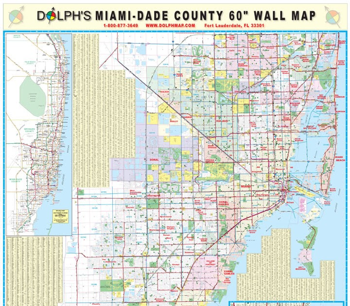 map of miami dade county - maps catalog online