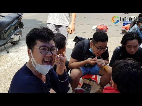 Toàn cảnh Đoàn lô tô Sài Gòn Tân Thời đến KaWaZo Bình Dương khai trương sân khấu mùng 6 Tết