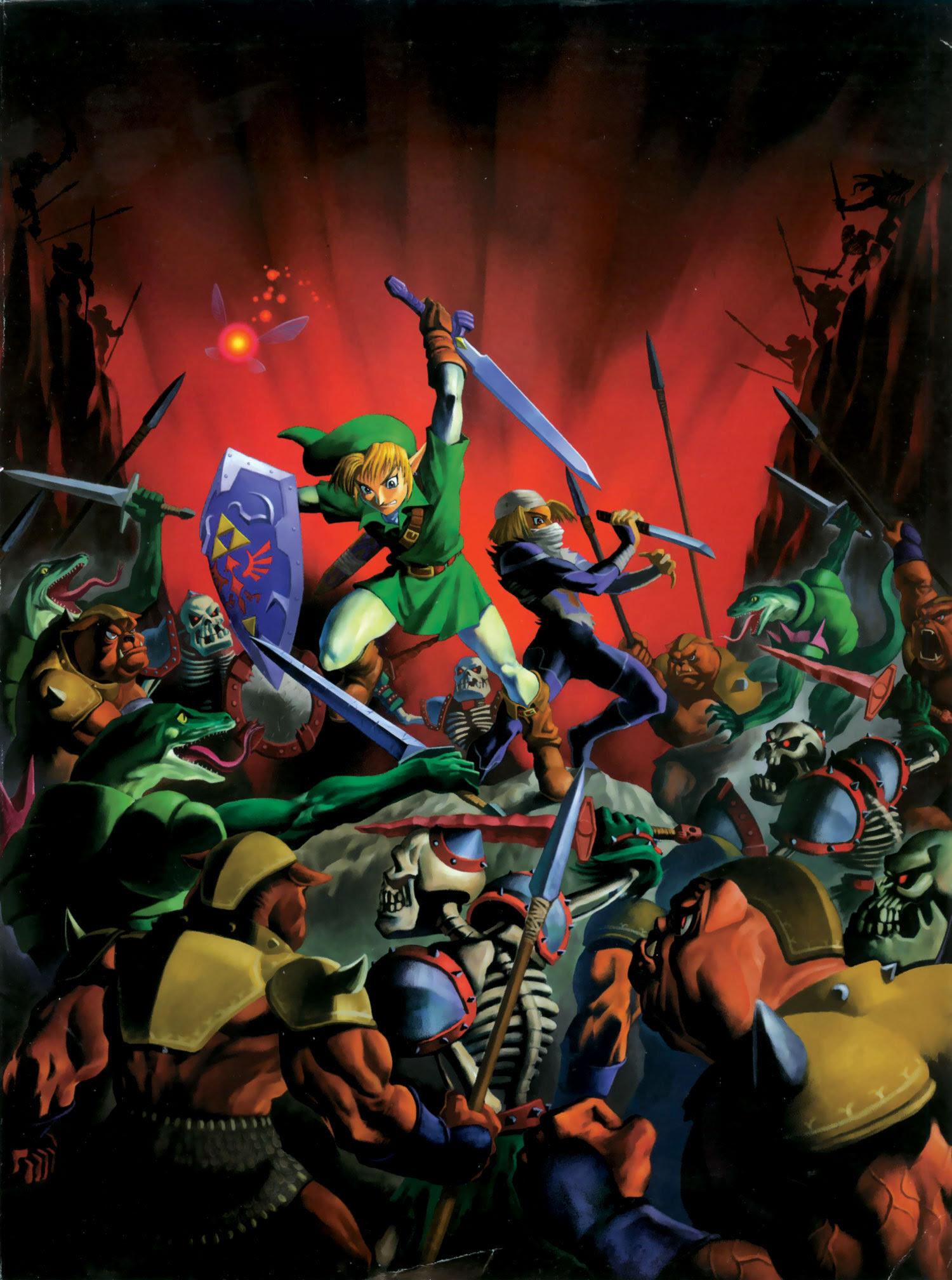 The Legend Of Zelda Ocarina Of Time The Ocarina Of Time Photo