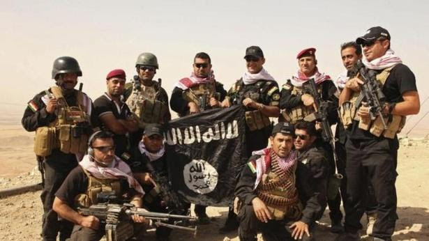 ISIS Pummeled by Air and Land in Iraq