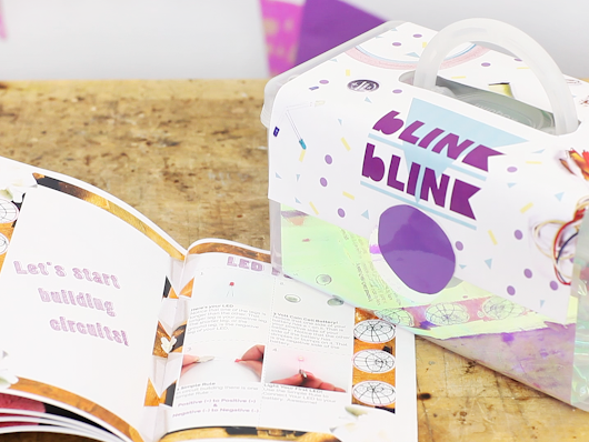 blink blink Creative Circuit Kits for Girls! by Joselyn McDonald & Nicole Messier — Kickstarter
