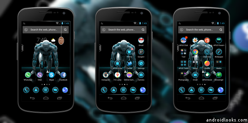 Minorities Android Theme For APUS Launcher