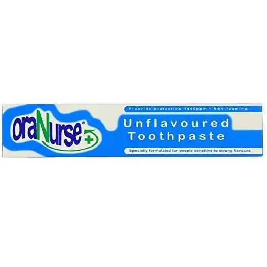 Is there any flavorless toothpaste available to buy?