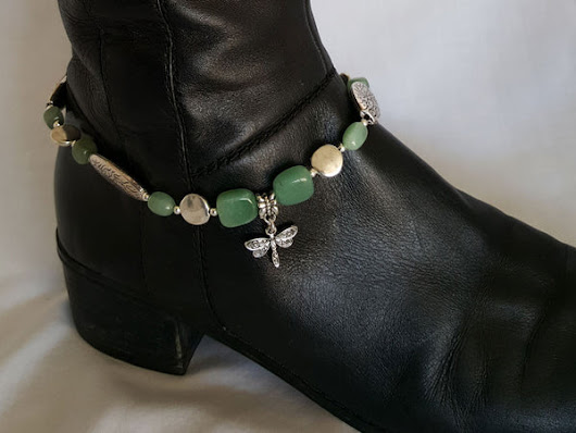 Green Dragonfly Boot Bling – Arzinger Jewelry