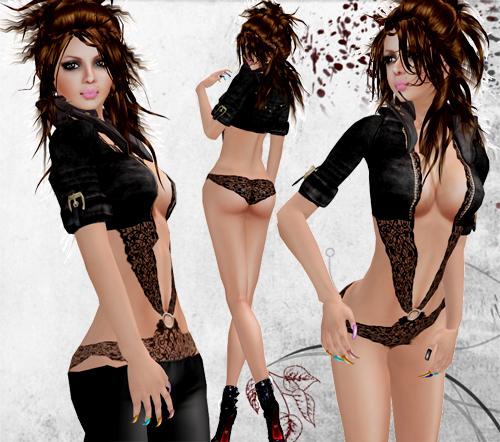 NEW! ~KAT~ Cheryl (black)