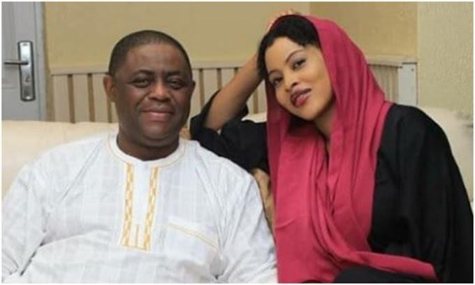 Amid Messy Marriage Crash, Fani-Kayode Poses With Mystery Beautiful Lady (Photos)