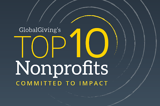 Top 10 Nonprofits Committed To Impact | By GlobalGiving