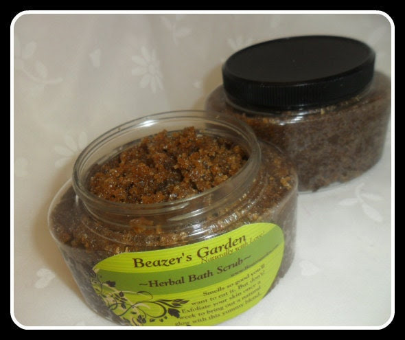 SALE- Brown Sugar Body Scrub- TAKE 15% OFF