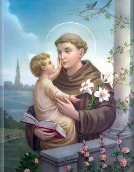 """""""Ông Thánh An-tôn làm phép lạ"""""""