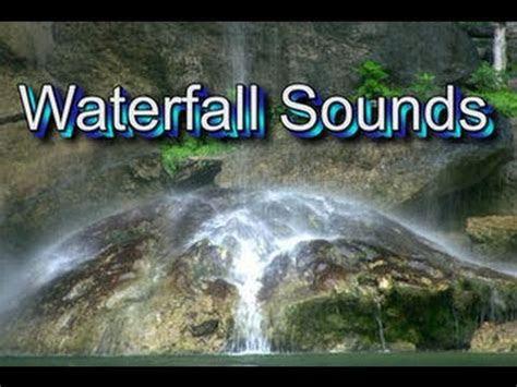 waterfall mins natural sound peaceful meditation sleep
