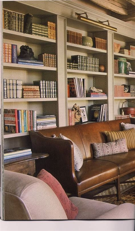 collection  library bookcases lighting