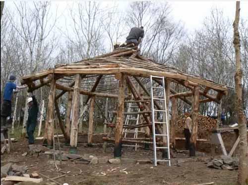 строим сами дачный домик
