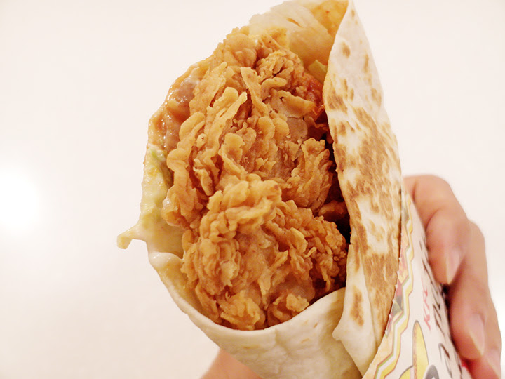 KFC Bandito Pockett meat