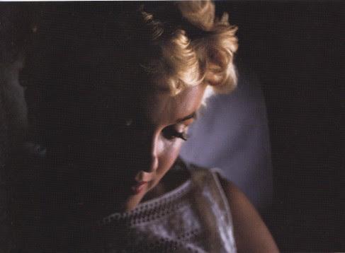 Marilyn Monroe, side portrait