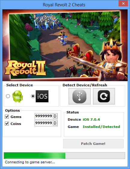 Royal Revolt 2 Hack - Best Cheat Files