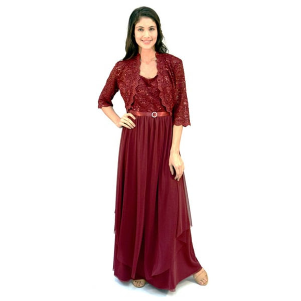 j laxmi plus size dresses long formal