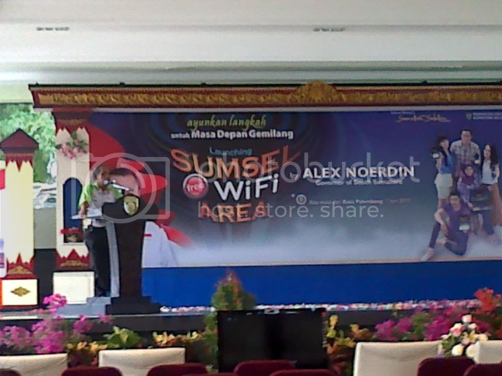 Sumsel Free Wifi Area