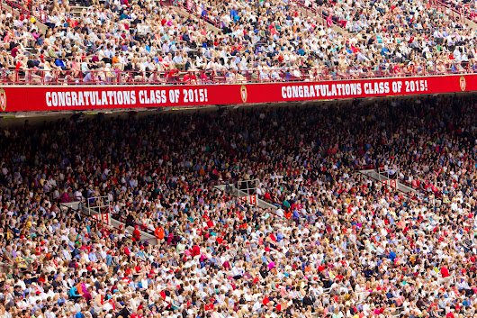 Where was the class of 2015 six months after graduation?