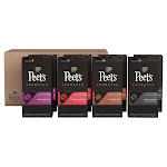 Peet's Coffee Nespresso Compatible Aluminum Capsules, 80-Count
