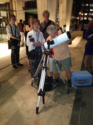 Viewing Saturn, Lincoln Center
