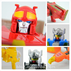 Transformers Blaster & Data Discs Fall of Cybertron - modo robot