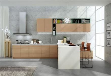 No Ratten Laminated Particle Board Cabinets , Wooden ...