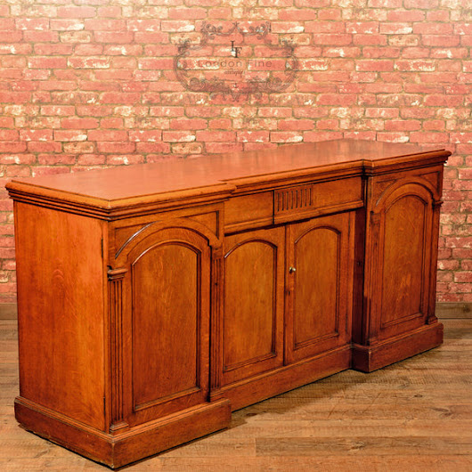 Regency Breakfront Sideboard, c.1830 – London Fine Antiques