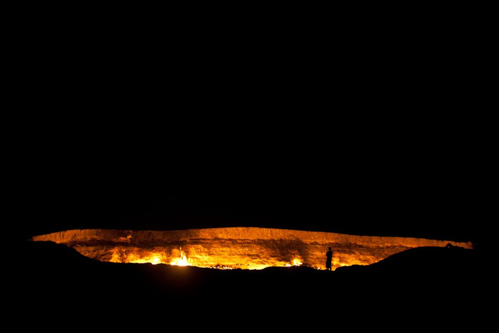 darvaza The Door to Hell in Darvaza aka Gas Crater