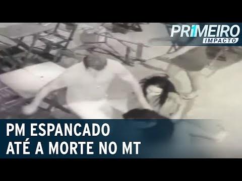 Vídeo: Policial militar é espancado até a morte