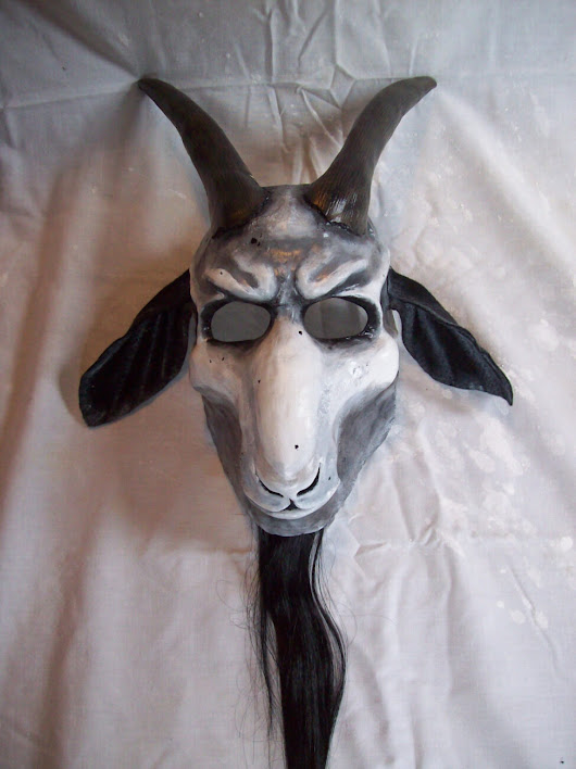 Devilish Goat Mask