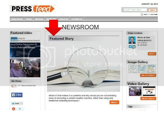 PRESSfeed Online Newsroom Adds Two New Features