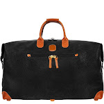 """Bric's Holiday Life Speciale 22"""" Cargo Duffle - Black"""