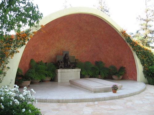 San Fernando Mission - Bob Hope Memorial Garden / Bob Hope's Grave
