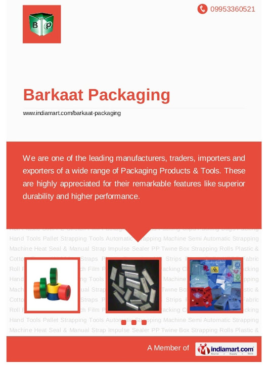 Barkaat Packaging, Mumbai, Packaging Products & Tool