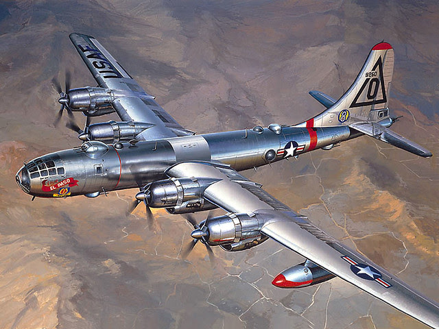 1948 ... Boeing B-50 strategic bomber