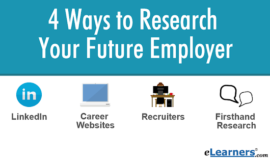 4 Ways to Research Your Future Employer