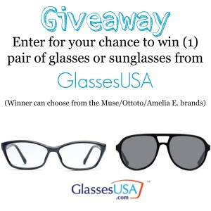 Get Your Own Glasses For Free! Join The GlassesUSA Giveaway!