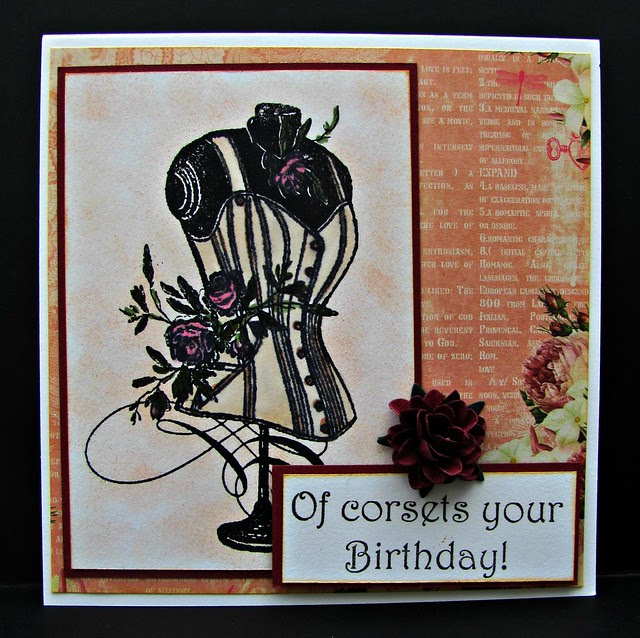 Of corsets your birthday!