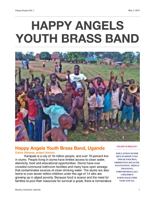 Vol 1 Happy Angels Youth Brass Band
