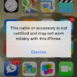 iOS 7 now blocking unauthorized Lightning cables and accessories?