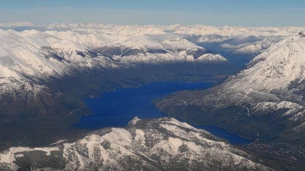 Lago Moreno, en Bariloche. Foto: María Eugenia Cerutti.