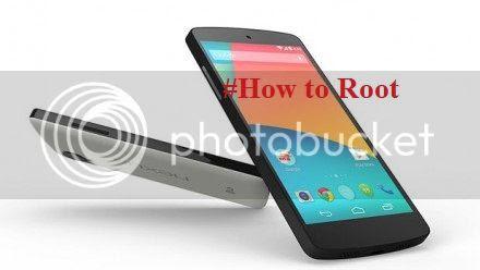 Cara Root Nexus 5