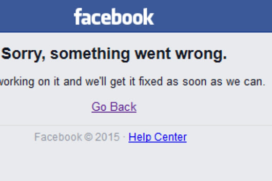 Facebook Goes Down for Some Users for Second Time in a Week