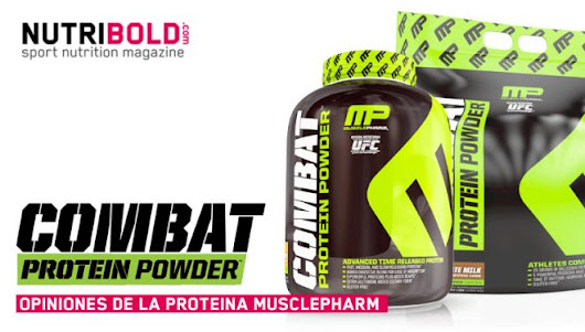 Opiniones de Combat Powder de MusclePharm  -  NutriBold