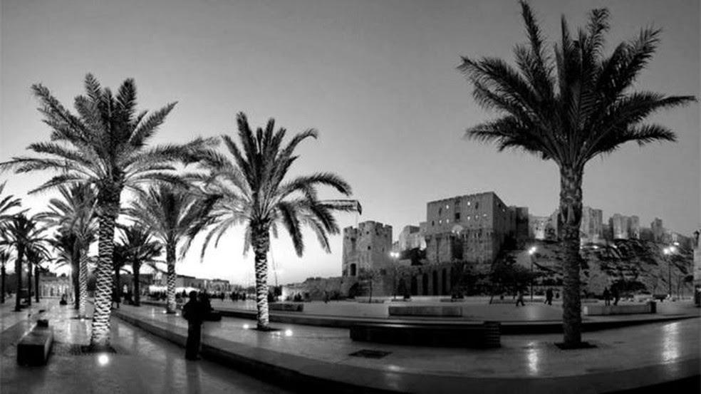 'Eu não lhe disse que é a cidade mais bonita e elegante do mundo?', diz comentário na página do acervo  (Foto: Arquivo Nacional de Aleppo )