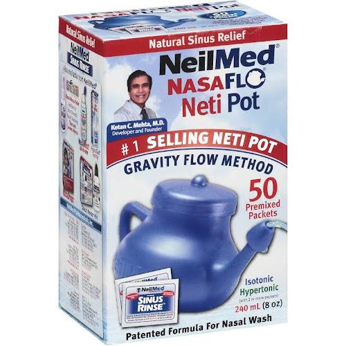Google Express Neilmed Nasaflo Neti Pot Sinus Relief With Premixed