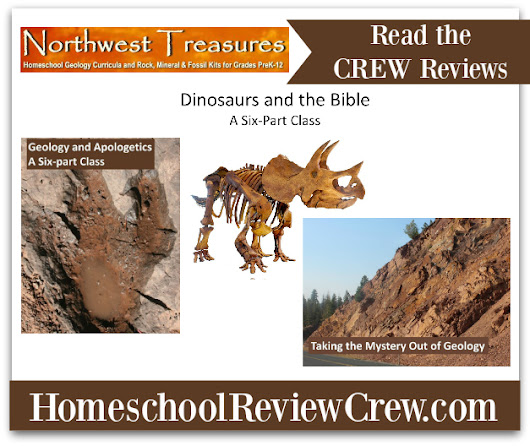 Taking the Mystery Out of Geology & Geology and Apologetics from Northwest Treasures: A TOS Crew Review